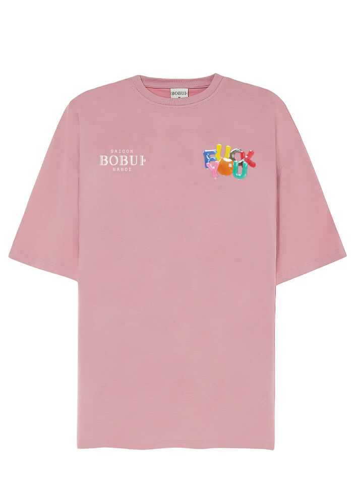 BALLOON F.U – TEES/PINK
