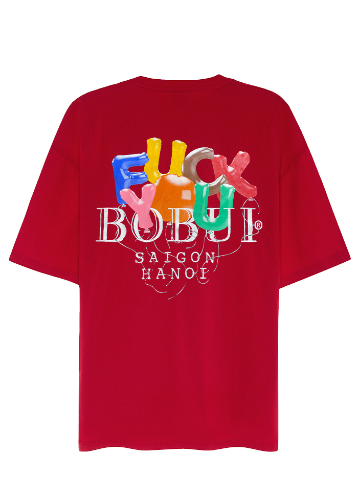 BALLOON F.U – TEES/RED