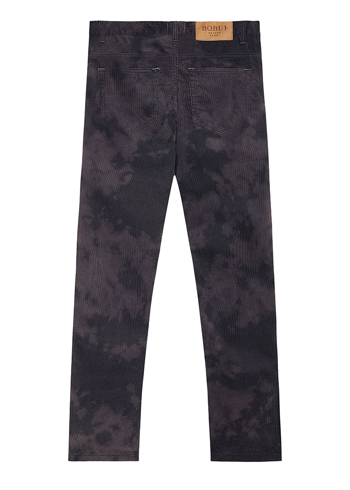 DYE CORDUROY PANTS – GREY