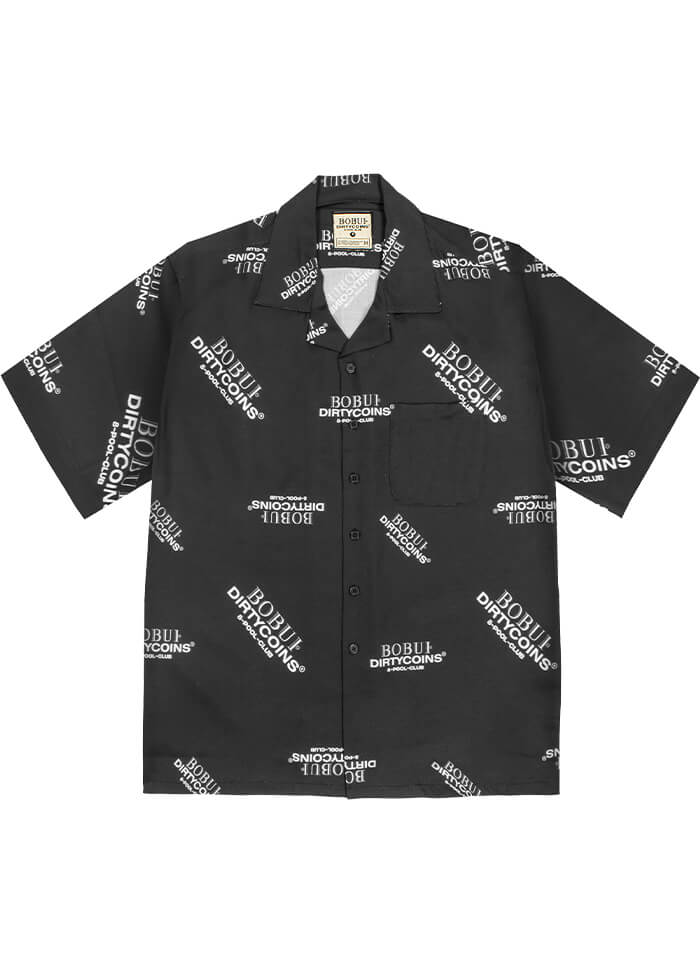 BXD – MONOGRAM SHIRT/BLACK