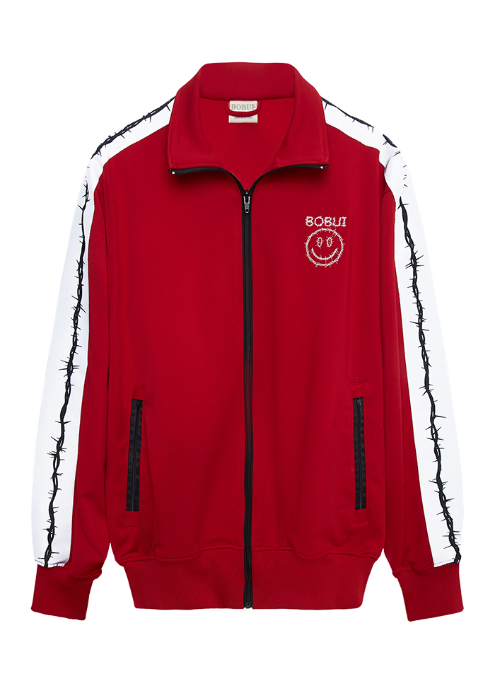 CLASSIC TRACK JACKET- RED