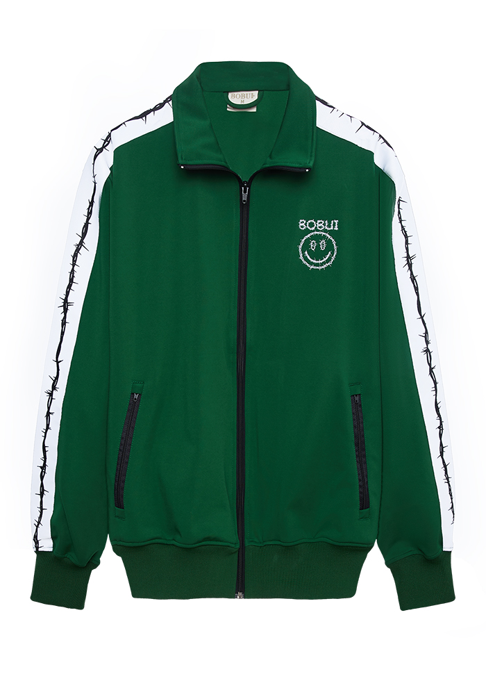 CLASSIC TRACK JACKET- GREEN