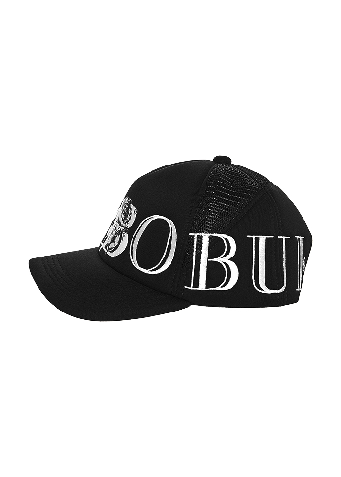 ANGEL B TRUCKER CAP/BLACK