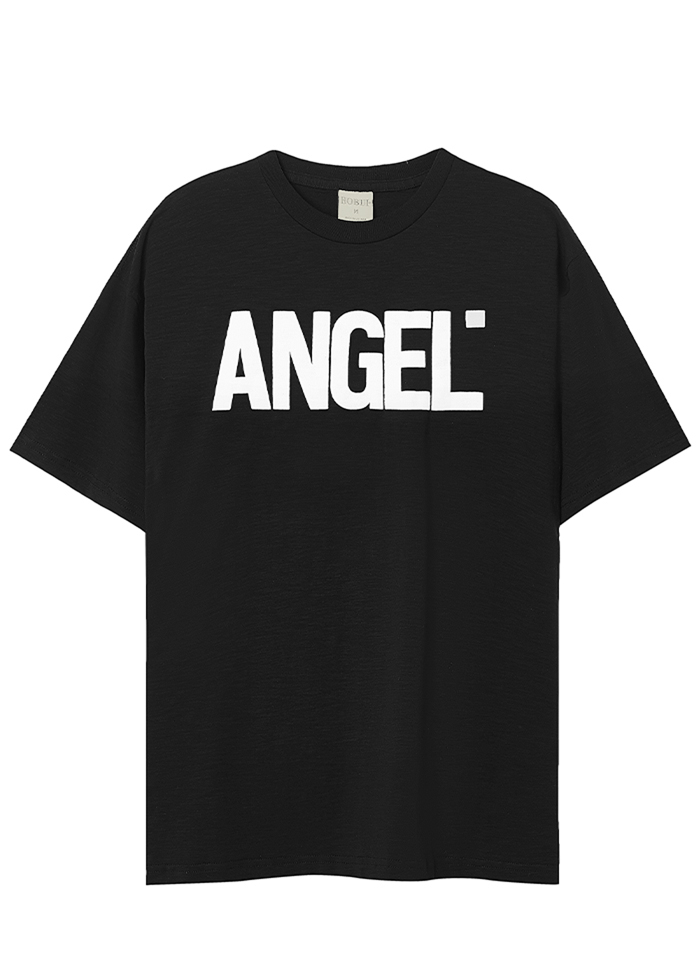 ANGEL LOGO TEES/ BLACK