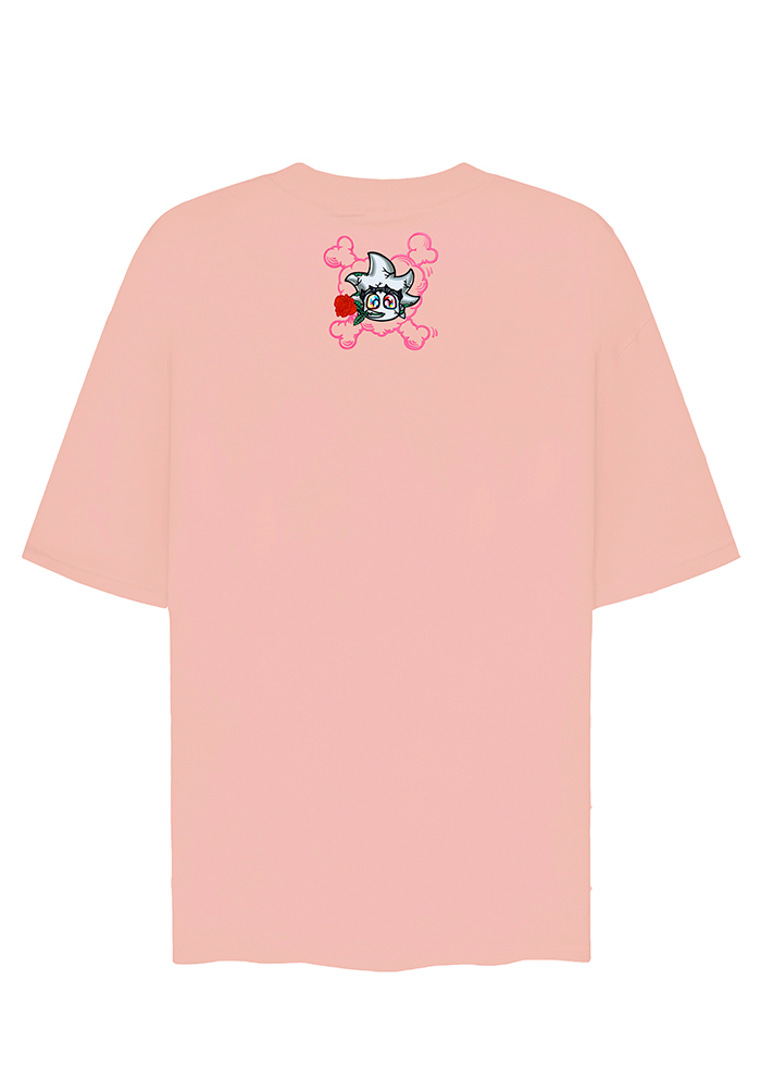 BEBIBO DRUNK IN LOVE TEES/ POWDER PINK