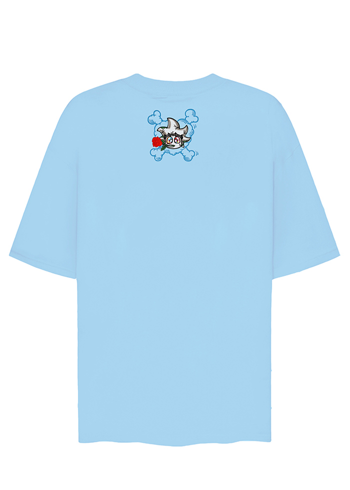 BEBIBO DRUNK IN LOVE TEES/ BABY BLUE