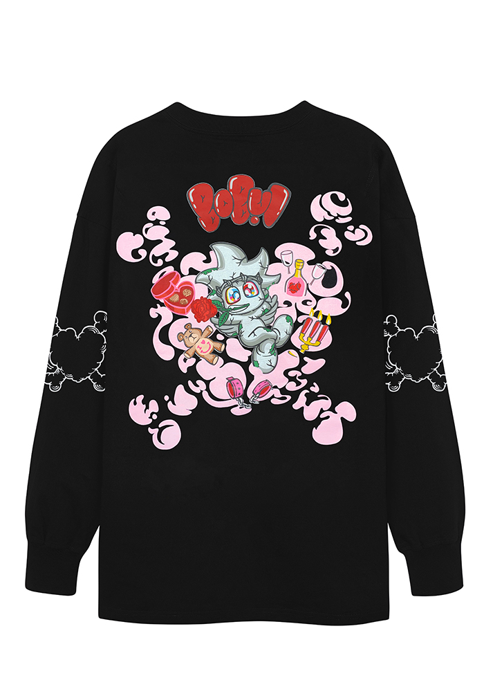 BEBIBO DRUNK IN LOVE LS/ BLACK 1